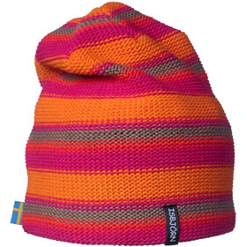 Isbjörn Stripes Knitted Cap Kids Lollypop